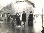 1914 1 Familie Suermondt in de winter