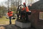 2009-03-30 Transport machines Cuijk naar Ravenstein 7