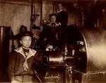 1910 Een nieuwe motor geinstalleerd