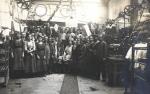 1913 Personeel bij de 1e heilige mis van Clemens Suermondt
