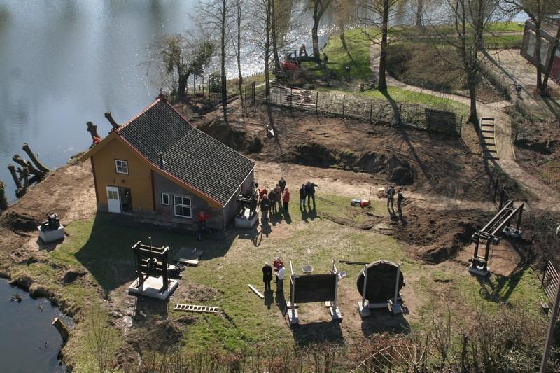 2009-03-30 Transport machines Cuijk naar Ravenstein 11