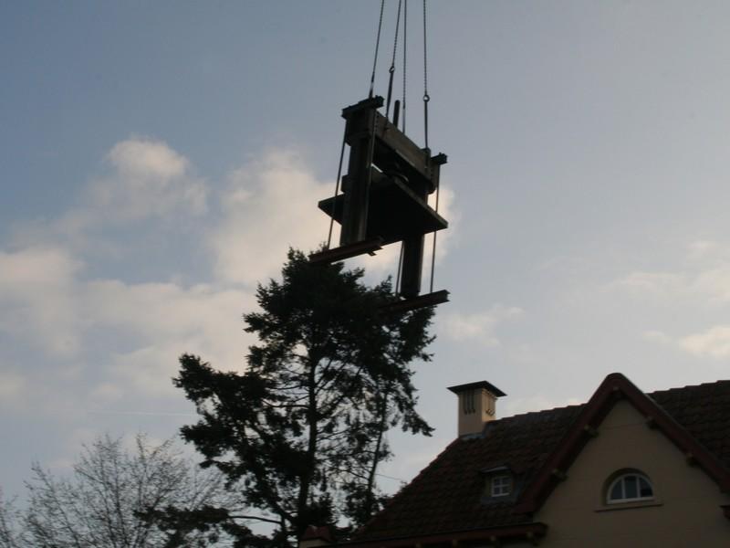 2009-03-30 Transport machines Cuijk naar Ravenstein 6
