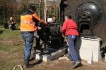 2009-03-30 Transport machines Cuijk naar Ravenstein 10